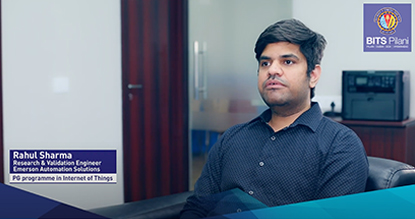 Rahul Sharma speaks about his experience with the programme