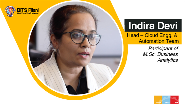 Indira Devi J speaks about her WILP experience